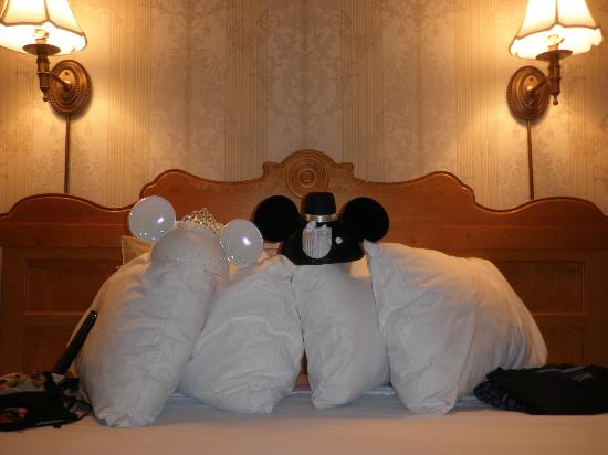 Disney's Grand Floridian Resort & Spa: Our evening turn down