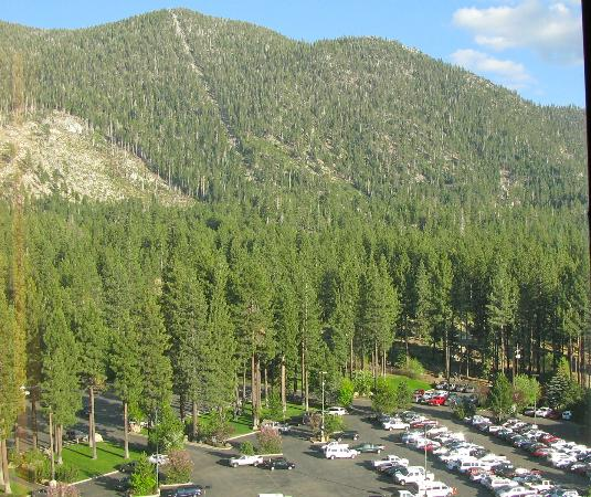 Harrah's Lake Tahoe: view of mountains left of window