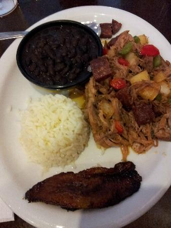 El Porton Cafe: Pork hash