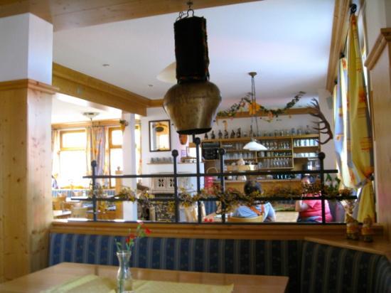 Landgasthaus Blume: interior with bell