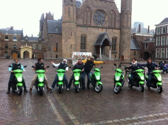 Scoottours: Ridderzaal Binnenhof Den Haag