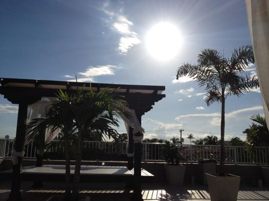 Granada Inn : auf dem Sonnendeck