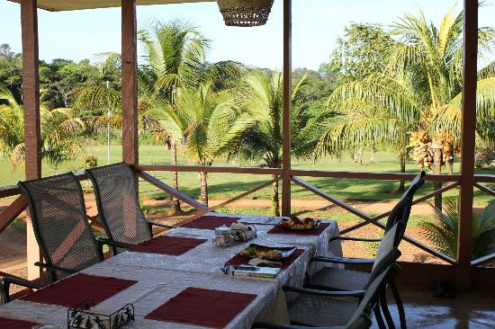 Kabalebo Nature Resort: Our breakfast