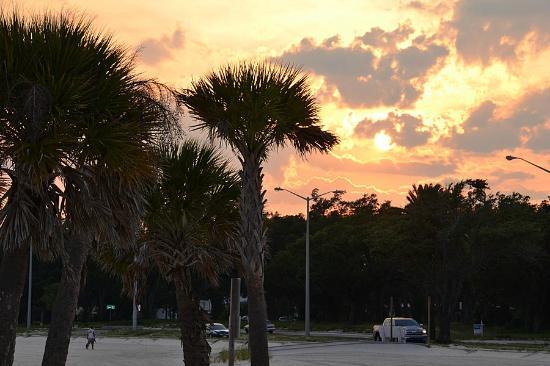 Palace Casino Resort: View on beach right across street