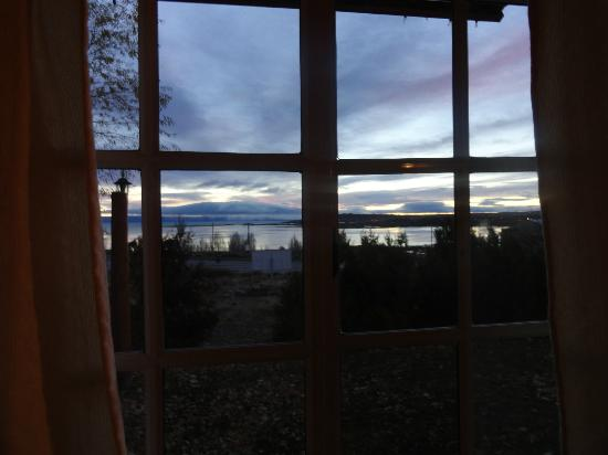 Cabanas Solares del Sur: vista de la bahía redonda