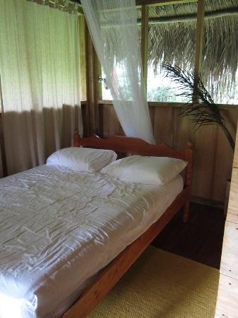 Chaab'il B'e Lodge & Casitas: Our cozy jungle bedroom
