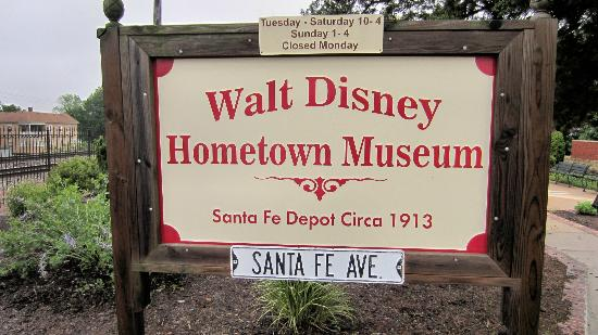 Marceline, MO: Disney Hometown Museum