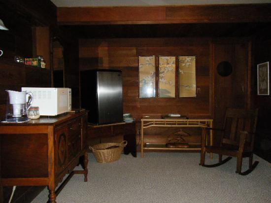 Mountain Meadow Ranch: コーヒーメーカー 電子レンジ 冷蔵庫などあり