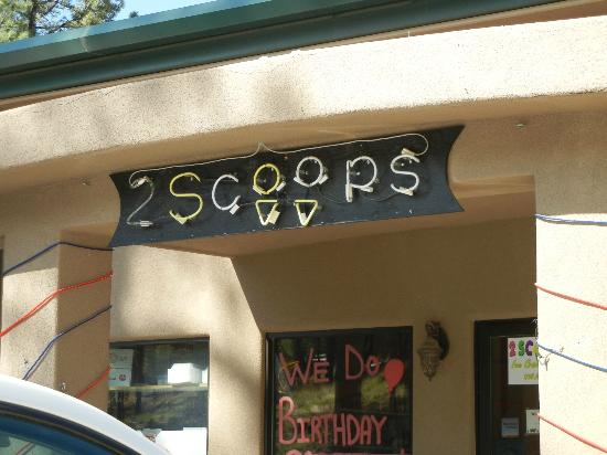 2 Scoops: Sign
