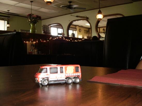 Old Lighthouse Diner: News Van 8 was ON THE SCENE for a Delicious Caesar Salad with Grilled Chicken this afternoon!