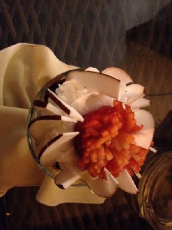 Cremeria Visconti Melody: coppa con il cocco