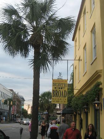Snob Restaurant Picture Of Slightly North Of Broad Charleston