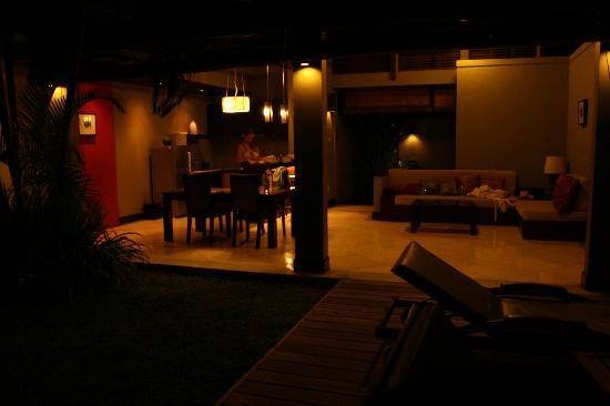 Pradha Villas: The kitchen