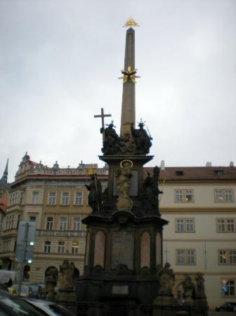 Mala strana: Statue of the Holy Infant Jesus