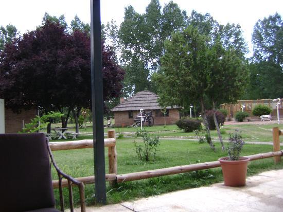 Hotel Valle Andino: El parque