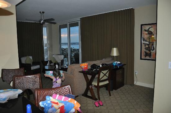 Palm Beach Marriott Singer Island Beach Resort U0026 Spa: Living Area In 2  Bedroom Suite
