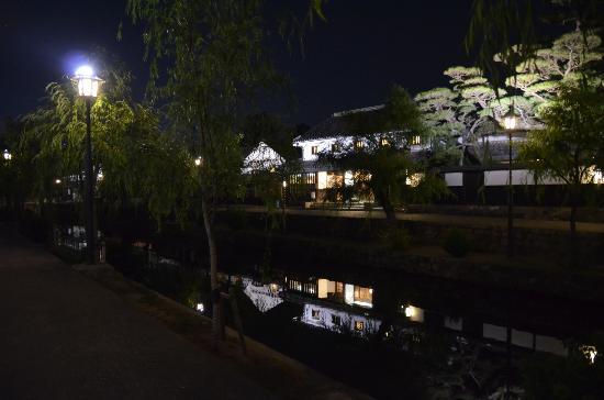 Kurashiki Royal Art Hotel: light up