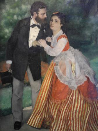 Pierre Auguste Renoir - The Couple, 1868  at Wallraf-Richartz Museum Cologne Germany