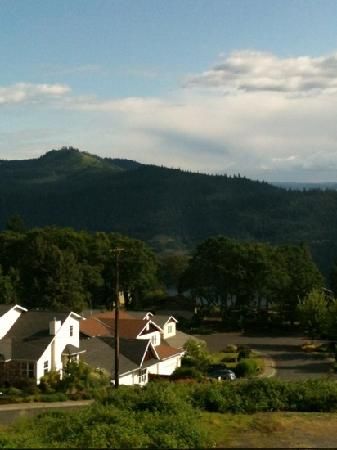 Inn of the White Salmon: view from room 204