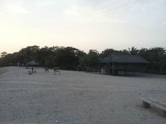 Alau Alau Resort: les bungalows en bois