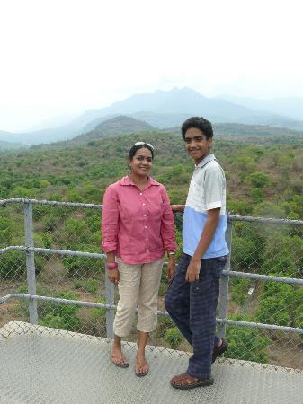 Chinnar Wildlife Sanctuary: Atop the watch tower