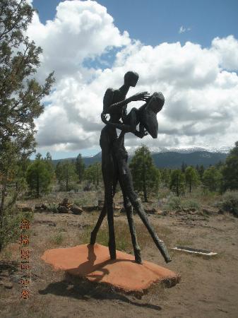 Living Memorial Sculpture Garden : Returning Home