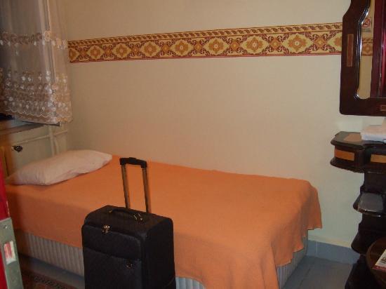Hotel Emek: 部屋は小さめ