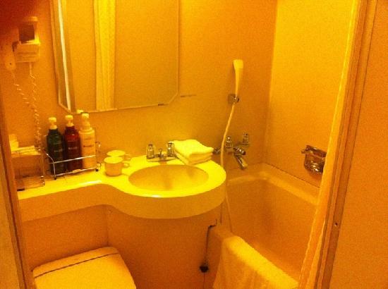 Ibis Styles Osaka: 風呂も普通のビジネスホテル