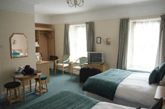 Tower Restaurant & Accommodation: Room 1 - Good sized room
