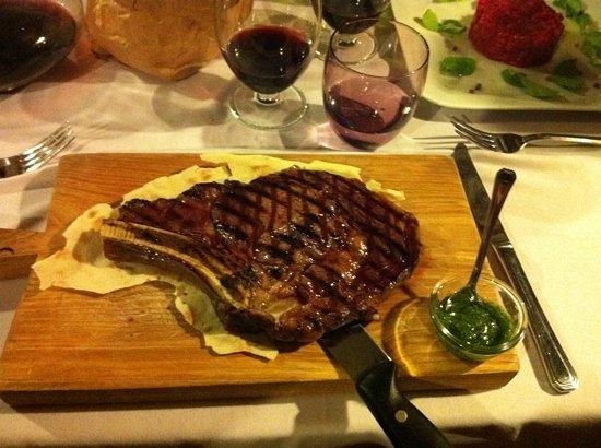 la locanda del mirto: rib chianina steak