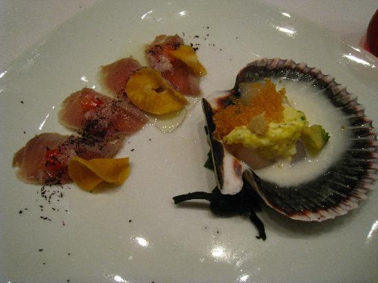 Mesa 18 Restaurante by Toshiro: 1st course