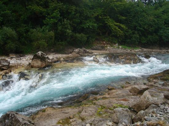 Konjic, Bosnia and Herzegovina: Džajić Buk (rapids) on the Neretva