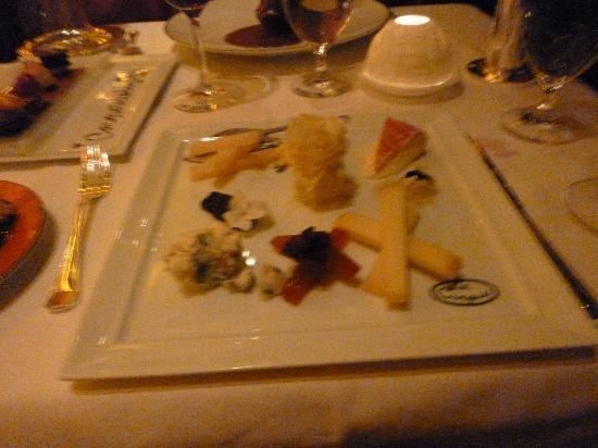 Le Cirque: Cheese platter