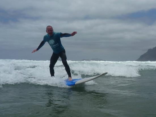 Lava Flow Surf Lanzarote: I actually surfed!