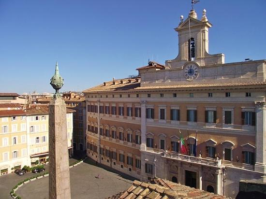 Colonna Palace Hotel: From roof