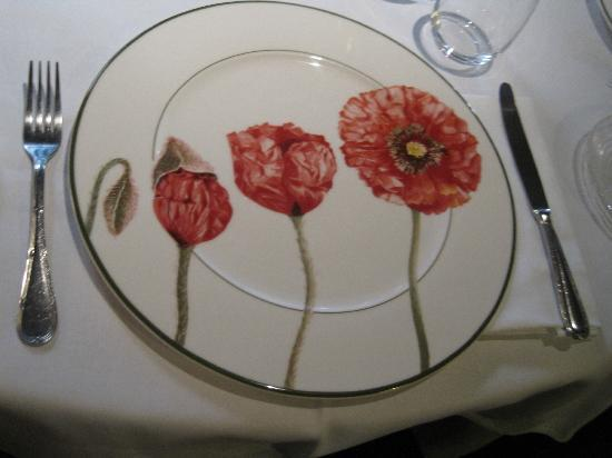 La Tour: One of the lovely plates