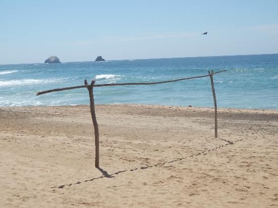 Hotel La Termita : spiaggia...no comment e se ti piace il football..