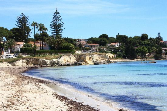 Hotel Villamare: spiaggia di fronte