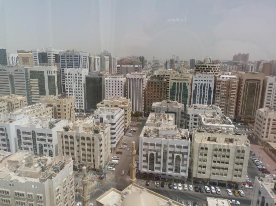 Crowne Plaza Abu Dhabi: Room view