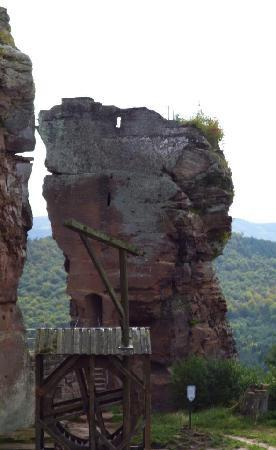 Château Fort de Fleckenstein : Little rock
