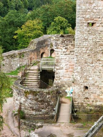 Château Fort de Fleckenstein : Barbican