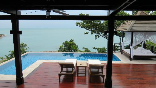 The Tongsai Bay: private pool