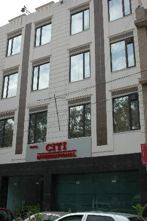 Treebo Citi International: Exterior of the Hotel