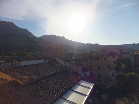Ca'l Bisbe: Blick vom Balkon