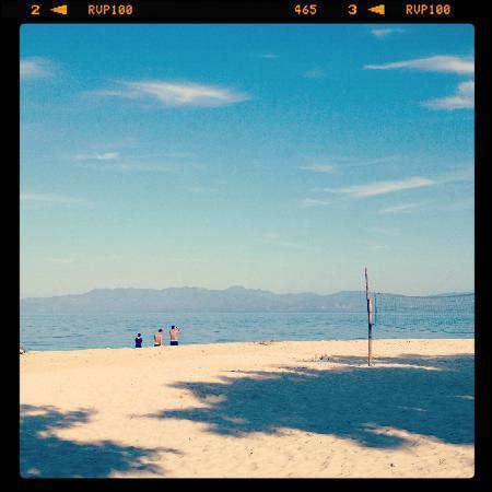 Basdaku Beach: beach front