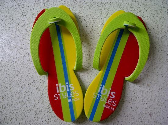 Ibis Styles Bali Benoa: Cool Slipper