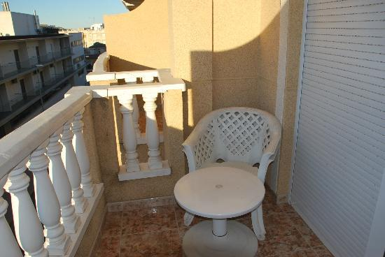 Hotel Parque Mar: Terraza