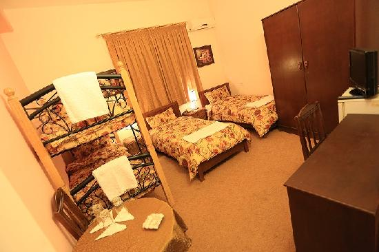 Amman Pasha Hotel: Four Bed Family Room or Dorm