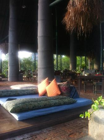 Hotel Tugu Lombok : Salle à manger