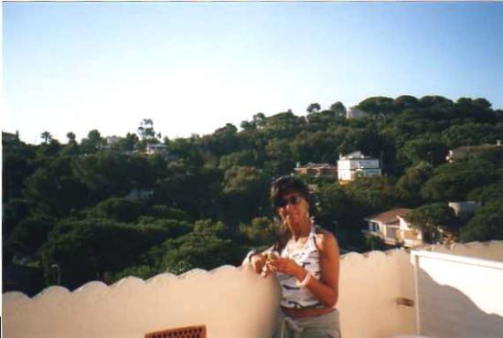 ALEGRIA Fenals Mar: Hotel Savoy: terrazza